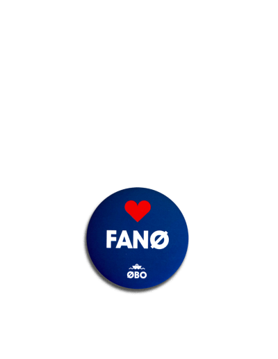 ØBO Fanø badgemagnet