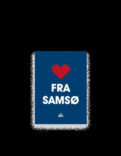 ØBO postkort Samsø