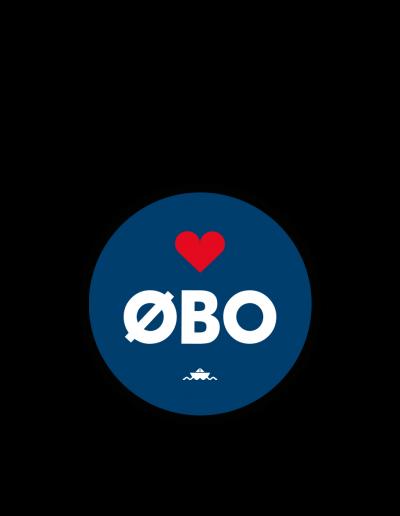 ØBO klistermærke