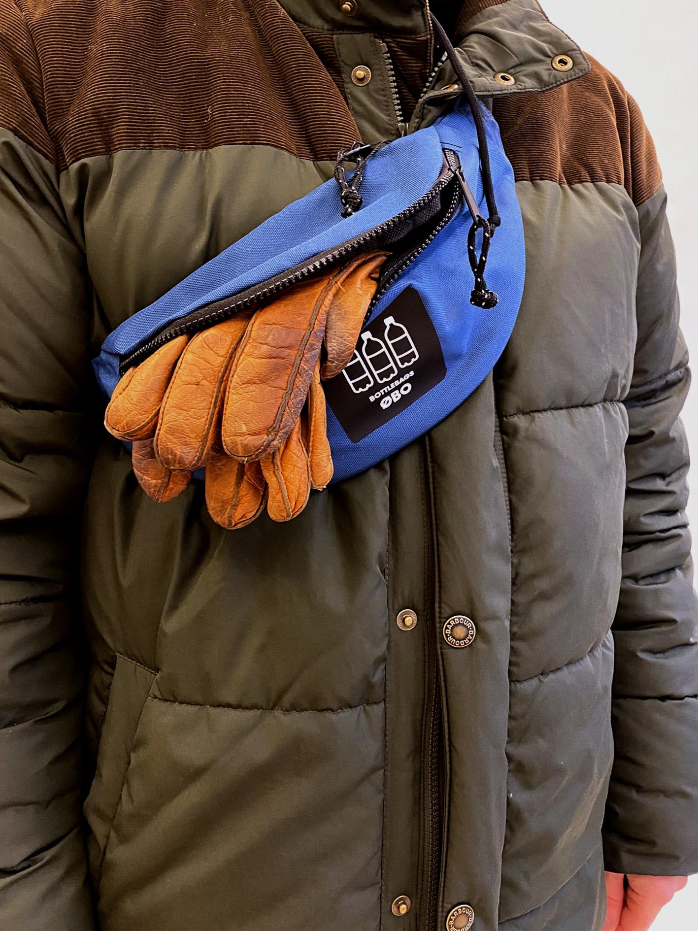 Bæltetaske blå - ØBO