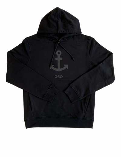 Sort ØBO anker hoodie